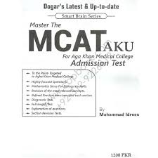 MCAT For Aga Khan Medical College Admission Test By Muhammad     CBPBOOK
