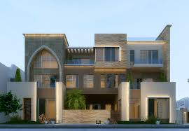 Villa Modern by Modern Villa In Kuwait Using 3ds Max Vray And Photoshop