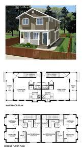 Garage Apartment House Plans 26 Best Duplex U0026 Multiplex Plans Images On Pinterest Apartment