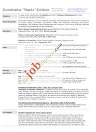 Resume Profile Section Examples resume resume header examples