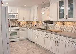 Kitchen Backsplash Ideas With Light Cabinets  Unique Hardscape - White kitchen backsplash ideas