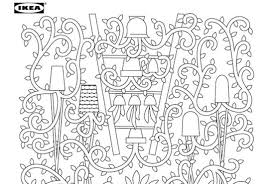 ikea coloring pages are the perfect break from ikea assembly