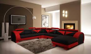 Ideas For Living Room Furniture by Black And Red Interior Design Ideas Home Interior Design Simple