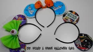 Halloween Costume Ears Diy Mickey Mouse Ears Halloween Costume