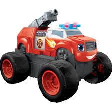 how many monster jam trucks are there nickelodeon blaze and the monster machines transforming fire truck