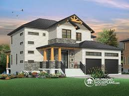 House Plan W Detail From DrummondHousePlanscom - Modern rustic home design