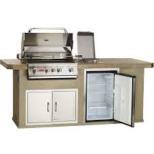 Chair Rock Angus Bull Outdoor Products Fast Ship Outdoor Kitchen With 4 Burner