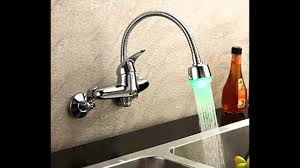 Kitchen Wall Mount Faucet Kitchen Faucets Wall Mount Youtube