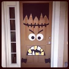 Halloween Decoration Craft Front Doors Kids Ideas Front Door Hallowesen Decoration Idea 34