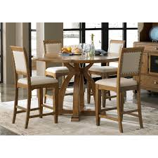 liberty furniture cumberland creek 7pc rectangular leg dining set
