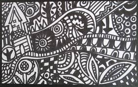 easy sharpie designs on paper
