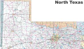 Texas Map Outline Map Of North Texas
