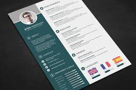 Pdf Resume Builder Professional Resume Cv Template Free Psd Files Graphic U0026 Web