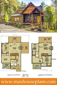 watershed house 124small mountain cottage plans small cabin floor