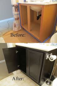 Painting Pressboard Kitchen Cabinets by Best 25 Painting Fake Wood Ideas On Pinterest Rv Cabinets