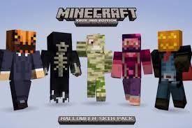 Halloween Minecraft Costume Minecraft Xbox 360 55 Halloween Costume Skins Tomorrow