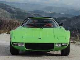 pistachio green suits this lancia stratos hf stradale perfectly