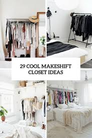Space Saving Closet Ideas With A Dressing Table Best 20 No Closet Solutions Ideas On Pinterest No Closet