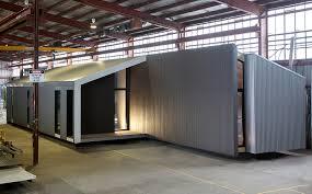 modern modular home prebuilt residential australian prefab breeze house under construction in the factory