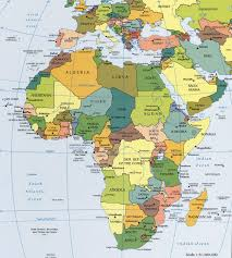 Show Map Of Europe by Africa Political Map Political Map Of Africa Worldatlas Com
