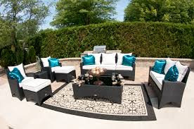 White Wicker Outdoor Patio Furniture by Decorating Exciting Pattern Outdoor Rugs Ikea For Inspiring Patio