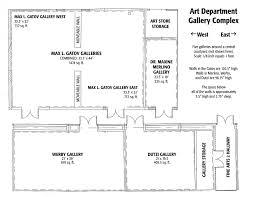 small floorplans csulb of art students gallery guidelines floorplans