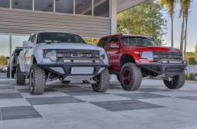 Ford Raptor Custom - shop ford raptor stealth fighter front bumpers at add offroad