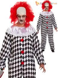 halloween mens wigs mens evil scary clown costume wig halloween fancy dress zombie