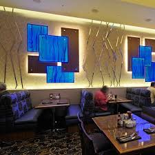 backlit blue onyx bar wall illuminated blue stone gpi design