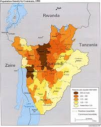 Thematic Maps Burundi Maps Perry Castañeda Map Collection Ut Library Online