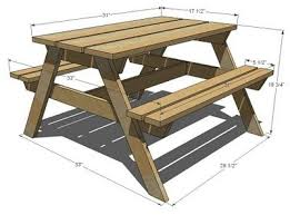 Free Wooden Picnic Table Plans by The 25 Best Picnic Table Plans Ideas On Pinterest Outdoor Table