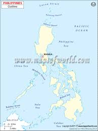 Blank Physical Map Of Russia by Blank Map Of Philippines Philippines Outline Map