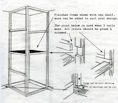 how to build a basic cupboard timber frames for storage units
