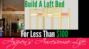 Build Diy Platform Bed by Diy 100 Loft Platform Bed Build It Yourself Do It Youtube