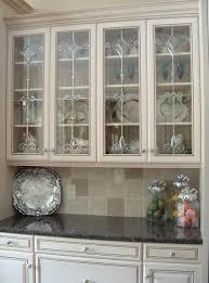 Kitchen Cabinet With Hutch Glass In Kitchen Cabinet Doors 65 With Glass In Kitchen Cabinet