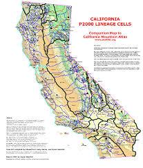 California Maps California Mountain Atlas Progress Page
