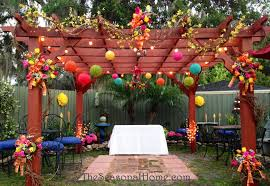 exterior backyard wedding flowers1 jpg optimal backyard wedding