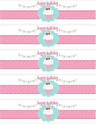 ice cream container labels to print party favors free