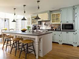 rustic country kitchen decor open shelves wooden white range hood
