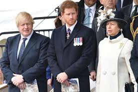prince harry joins queen elizabeth prince william and princess