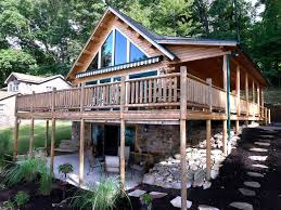 Lakeside Cottage Plans by Kodiak Cedar Home Kit By Katahdin Lakeside Cabin Retreat
