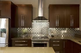stainless steel backsplash with shelf big refrigerator window