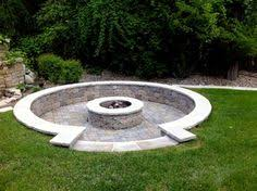 Ideas For Fire Pits In Backyard by Sunken Outdoor Fire Pit Our New