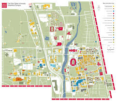 Bc Campus Map Large Campus Map Campus The Ohio State University Pinterest