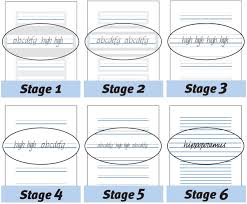 kindergarten lined writing paper raised line paper set school specialty marketplace therapro stage write raised line paper assortment 10 sheets of each stage