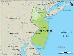 Map Nj New Jersey Map Map Travel Holiday Vacations