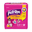 girls in pull ups diapers