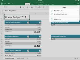 Ipad Spreadsheet Explore Microsoft Excel For Ipad Collaborate Share And Sync
