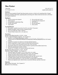 Resume Template  Sales Representative Resume Objective With Accomplishment And Experience  Sales Representative Resume Objective     AngkorriceSpirit