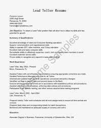 Banker Resume Example by Awesome Banking Resume Template Format Example For Bank Lead